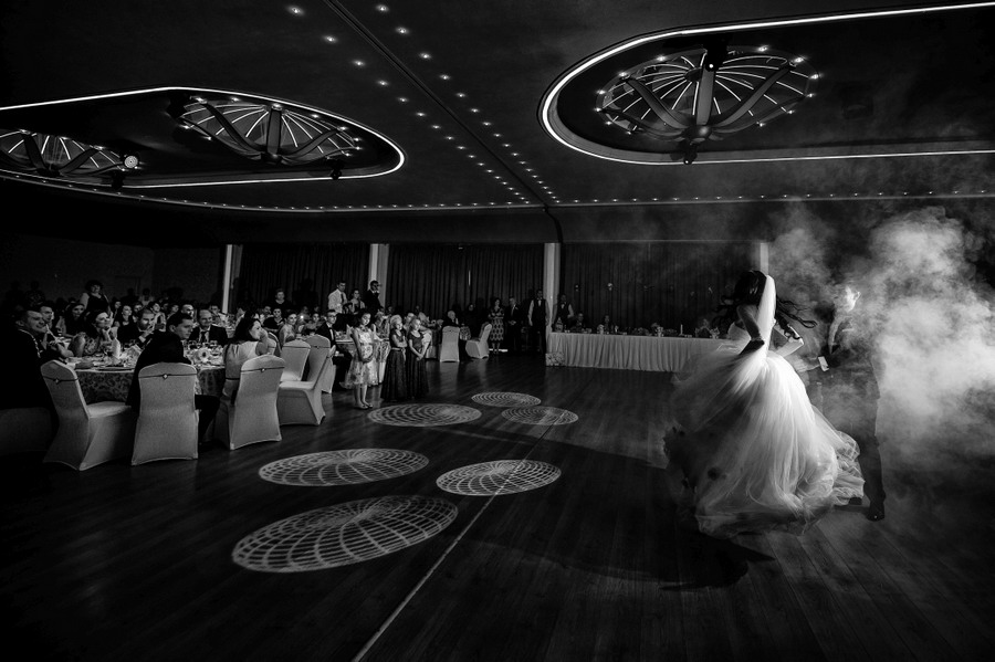 first dance wedding floor